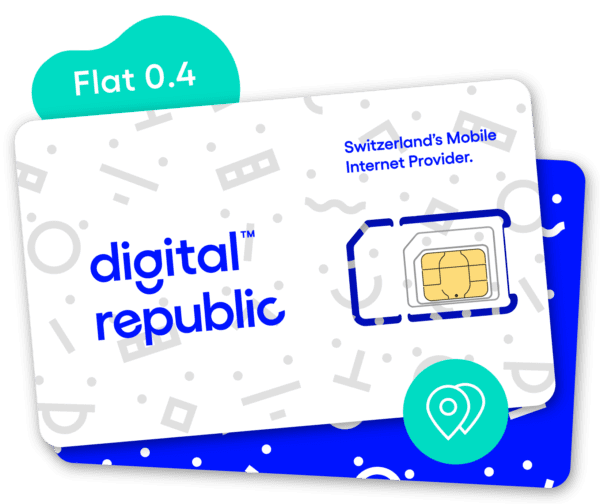 SIM-Karte Flat 0.4