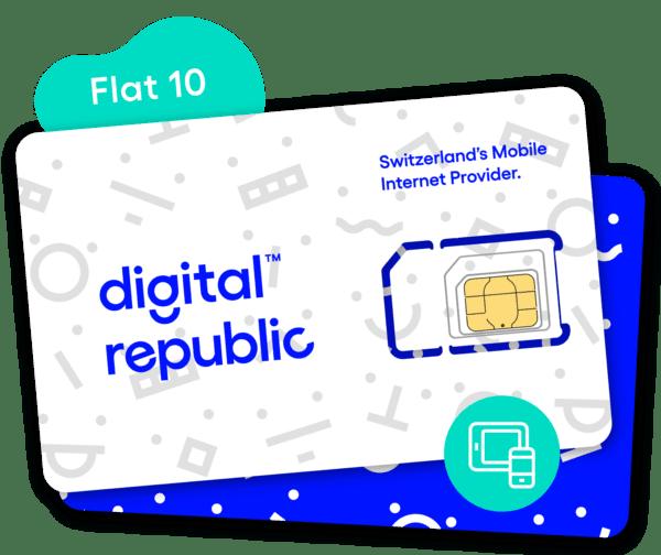 SIm-Karte Flat 10