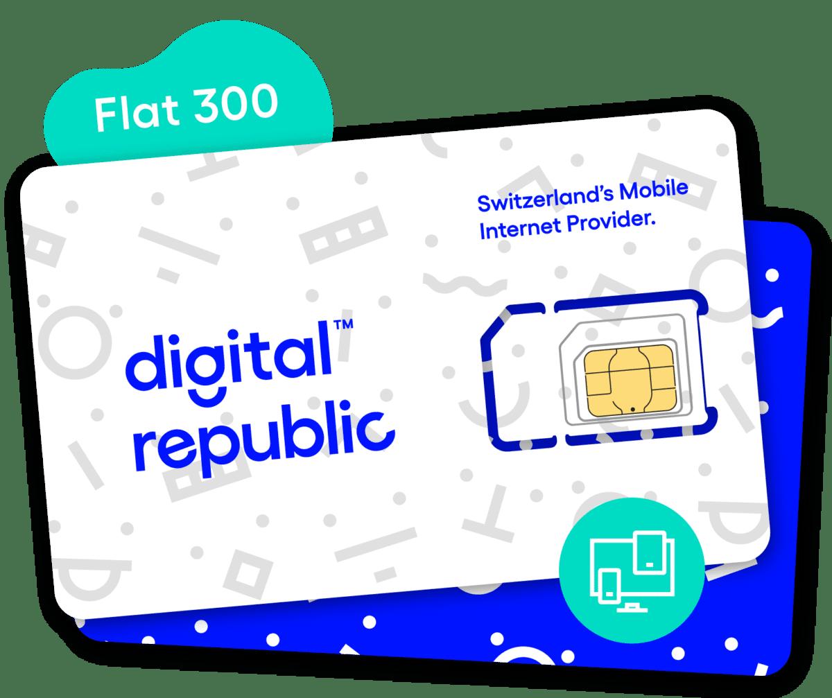 SIM-Karte Flat 300